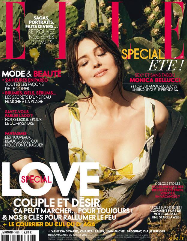 Elle Magazine - Semaine 29 juillet 2016 -Monica Bellucci